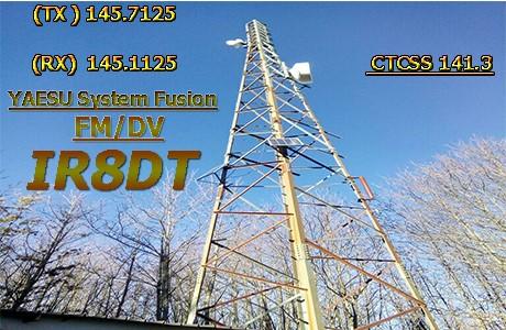 IR8 DT - Ponte Radio Amatoriale